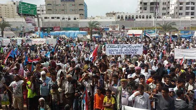 الحراك الجنوبي عدن.13 يناير